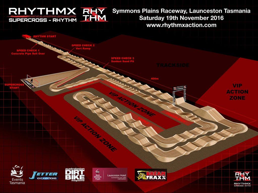 Symmons Plains Raceway in Launceston, Tasmania will host the first ever RHYTHM X on November the 19th