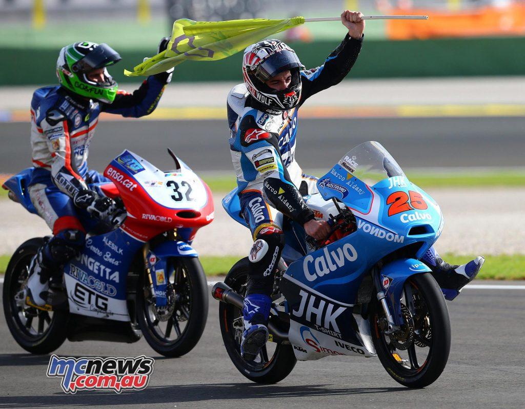 KTM Moto3 Title - 2013 - Maverick Vinales