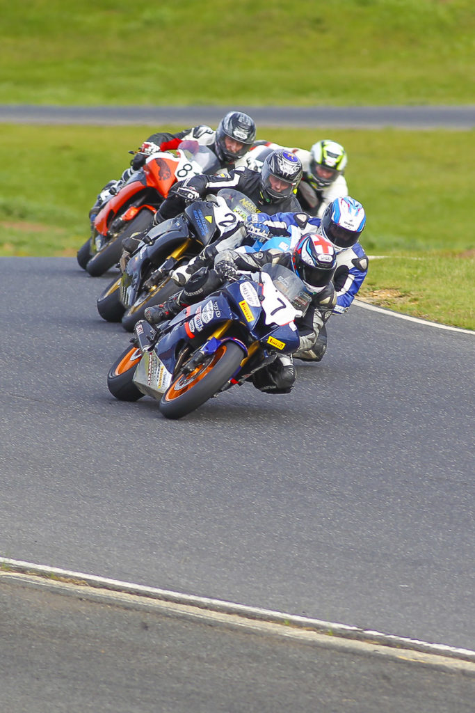 Hartwell Motorcycle Club Championships - Round 5 Broadford 6th & 7th August 2016 - Image by Cameron White - Andrew McNaught, Bob MacKenzie, Glen Nankervis, Bob Mackenzie, Gary Tidd