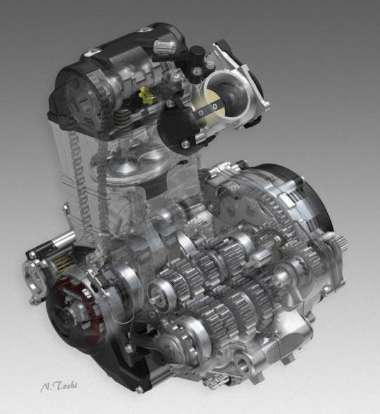 2017-Honda-CRF450R-Engine
