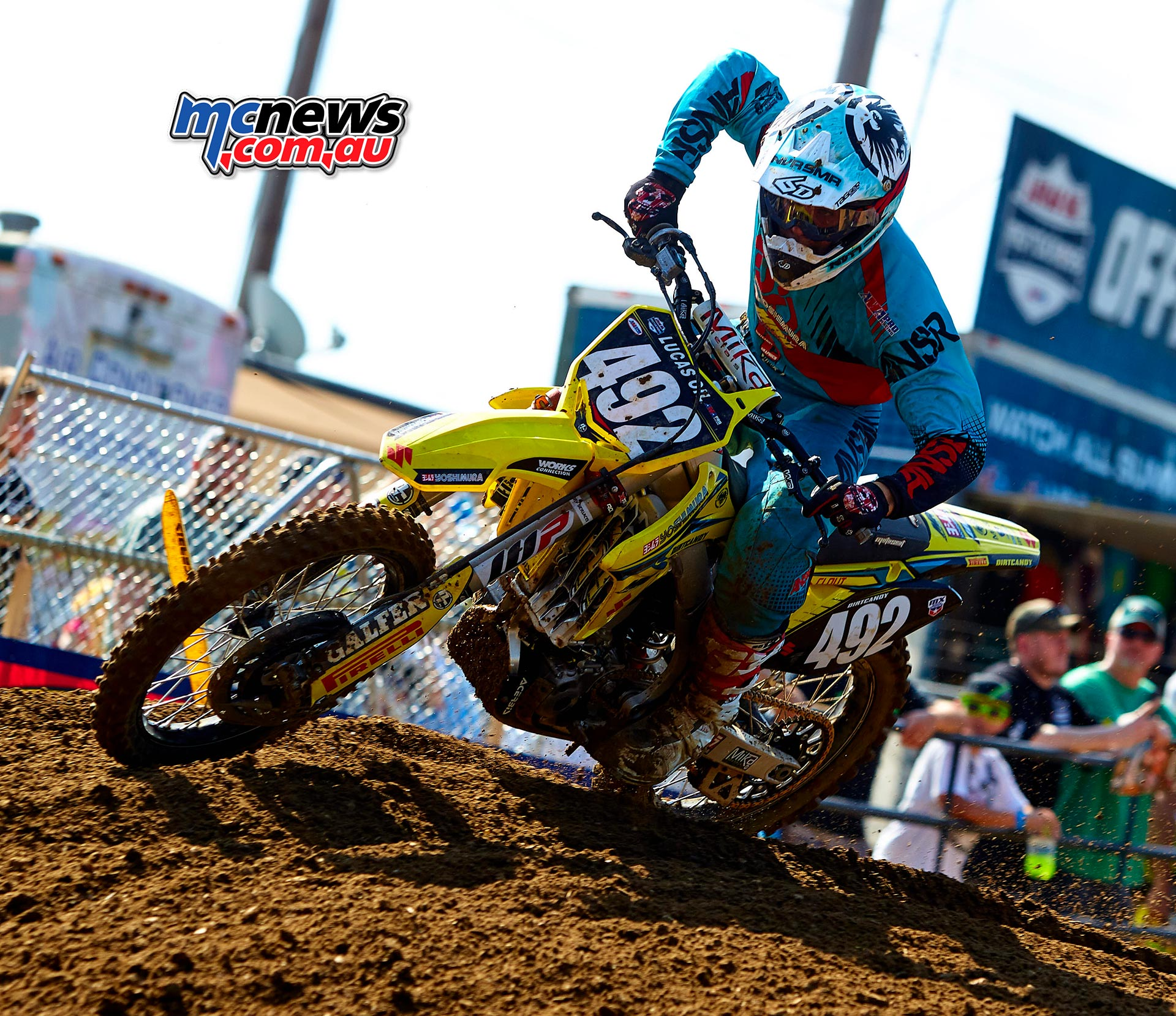 AMA Pro Motocross 2016 - Round 11 - Budds Creek - Image by Hoppenworld - Luke Clout