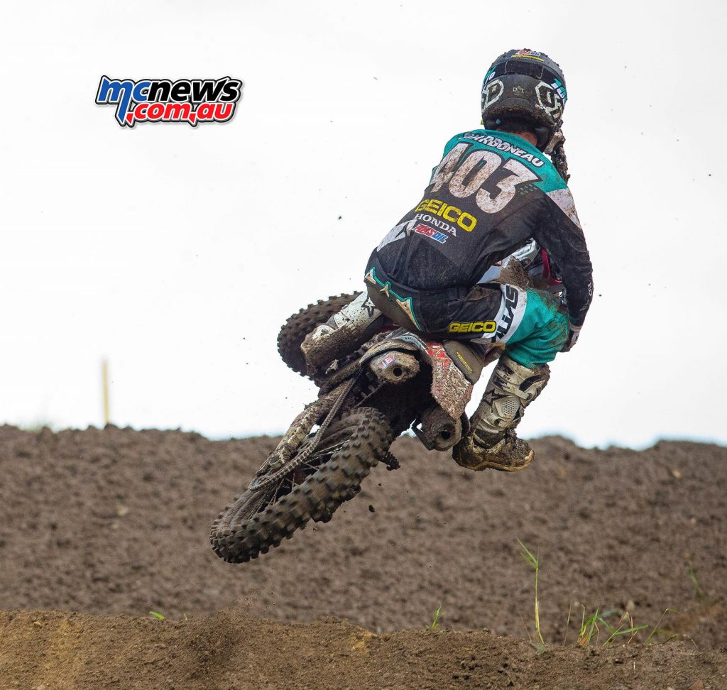 Tristan Charboneau (pictured) and Ryan Surratt will be contesting the AMA 250 West with the 2017 Bud Racing Monster Energy Kawasaki team