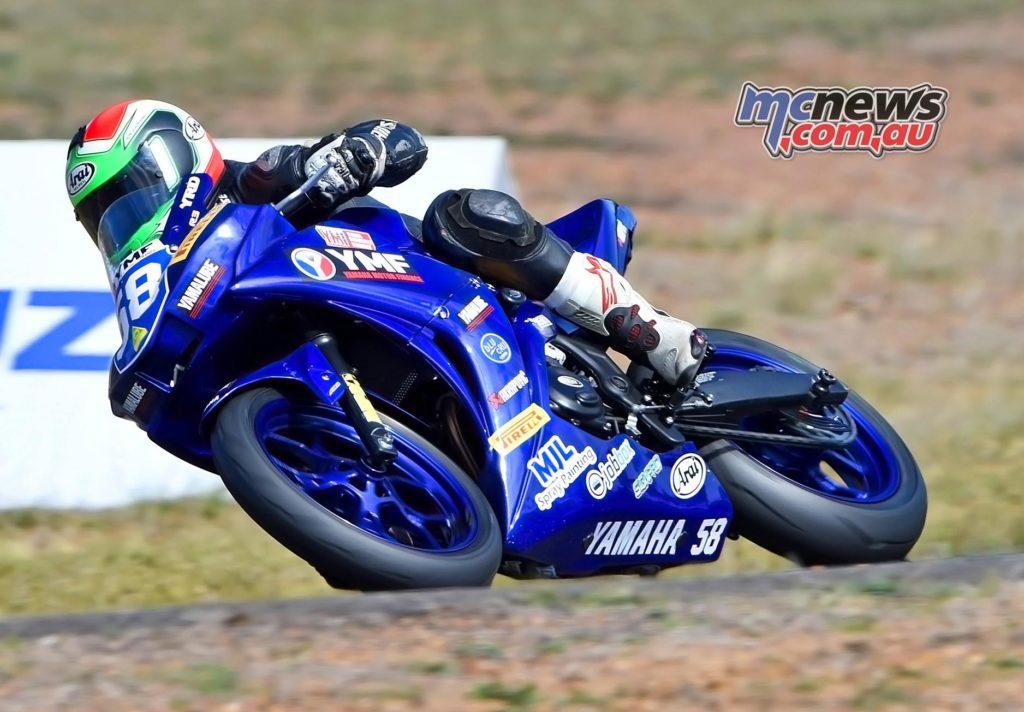 ASBK 2016 - Morgan Park - Yamaha Motor Finance R3 Cup - Callum Alderson - Image by Keith Muir