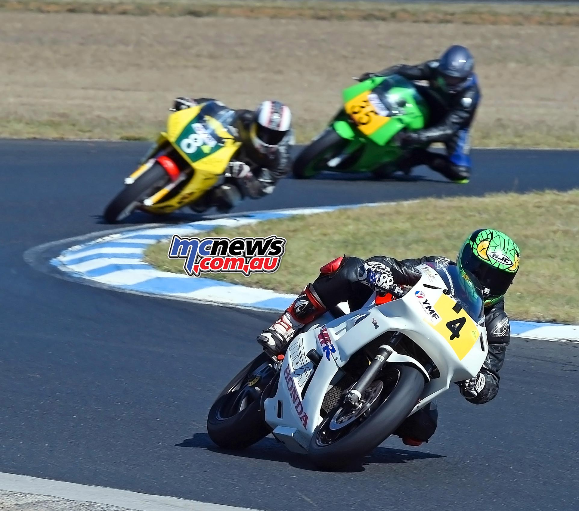 ASBK 2016 - Morgan Park - Image by Keith Muir - Anthony Carroll, Simon Dickson and Leigh Holmes