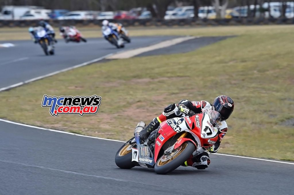 ASBK 2016 -Morgan Park - Superbike Race One - Image by Keith Muir - Troy Herfoss