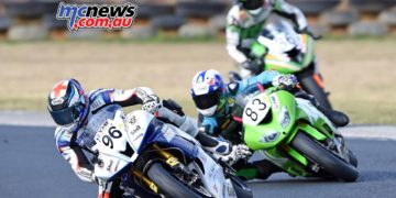 ASBK Morgan Park - Image by Keith Muir - Luke Mitchell, Lachlan Epis and Sam Clarke
