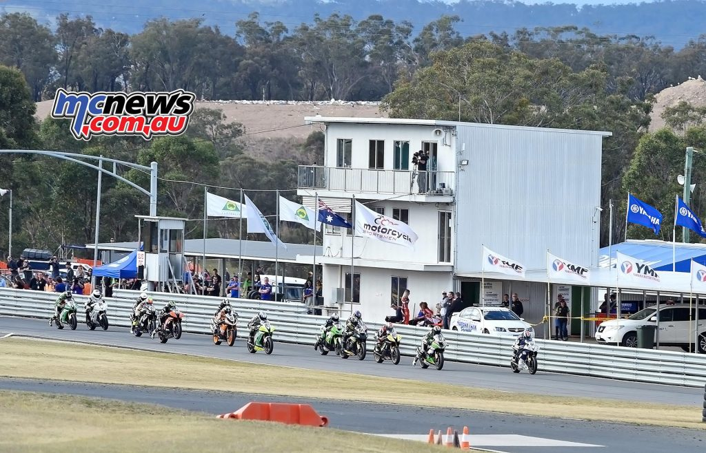 ASBK Morgan Park - Image by Keith Muir - Supersport