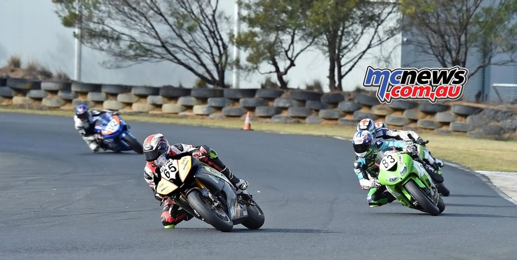 ASBK Morgan Park - Image by Keith Muir - Supersport - Troy Guenther, Lachlan Epis
