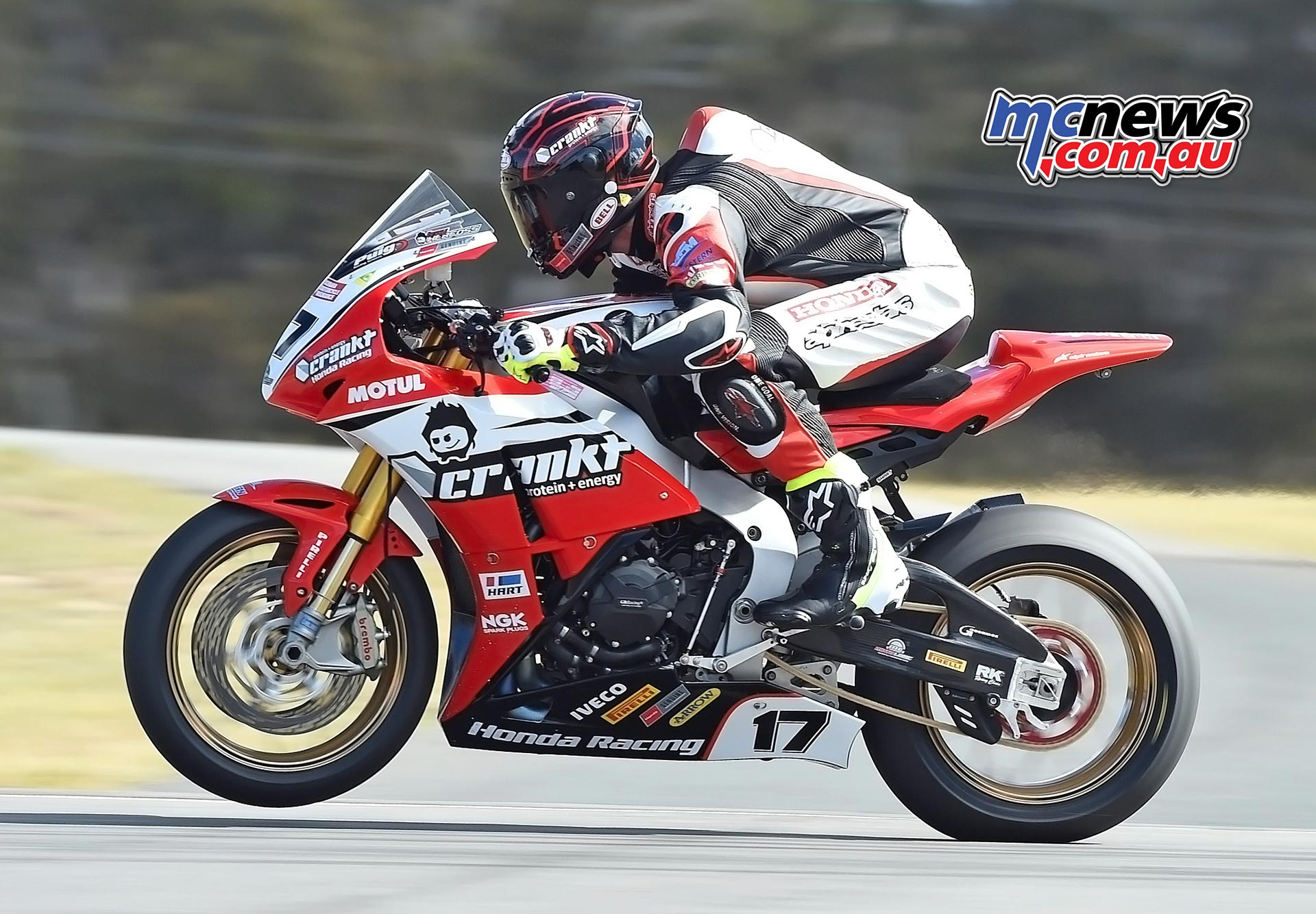 ASBK 2016 -Morgan Park - Troy Herfoss - Image by Keith Muir