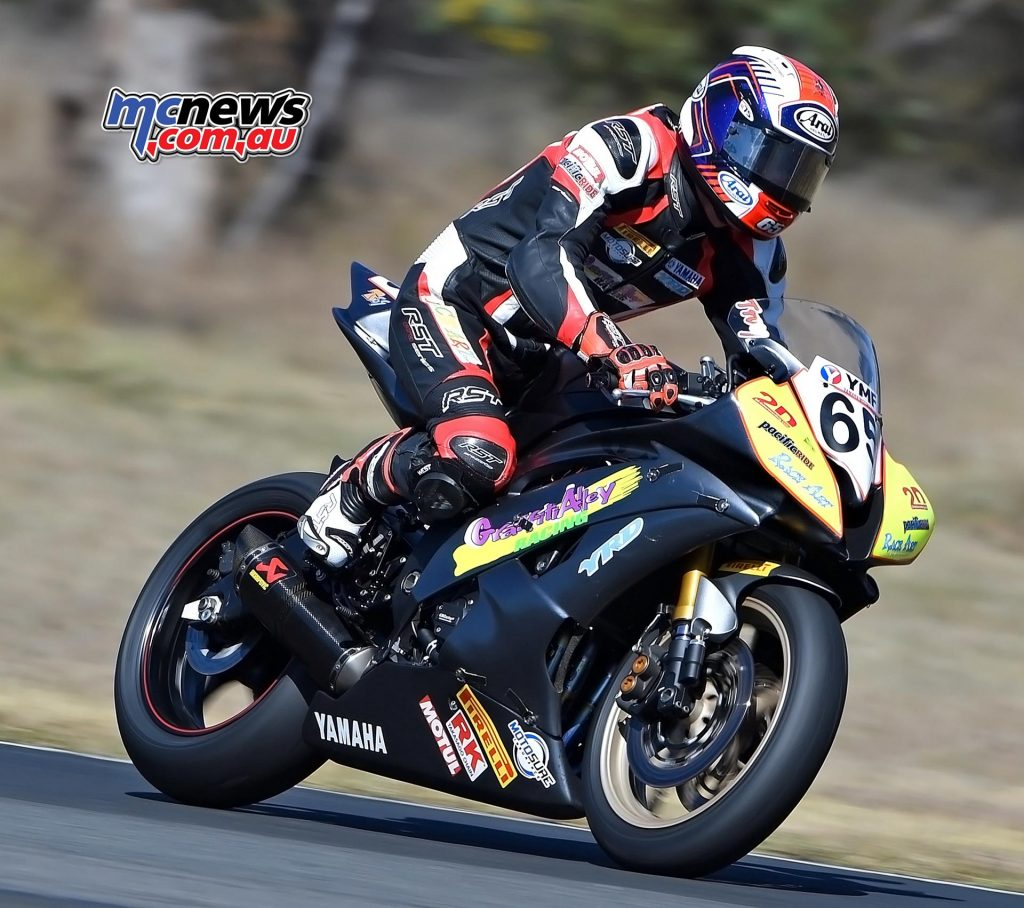ASBK Morgan Park - Image by Keith Muir - Supersport - Troy Guenther
