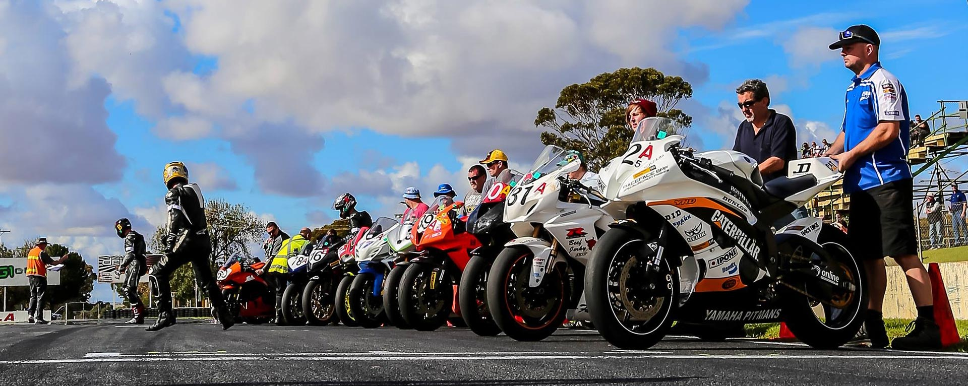 Adelaide 3 Hour race hosted by the Phoenix Motorcycle Club of SA