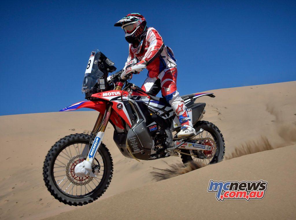 Atacama Rally 2016 - Kevin Benavides