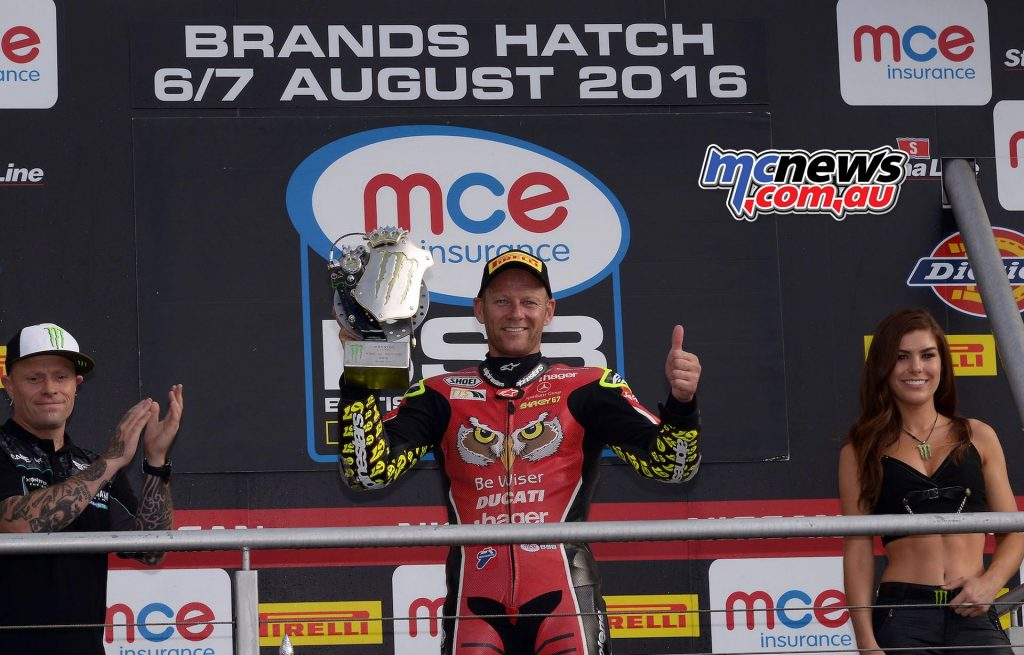 Shane Byrne doubles up the silverware at Brands Hatch