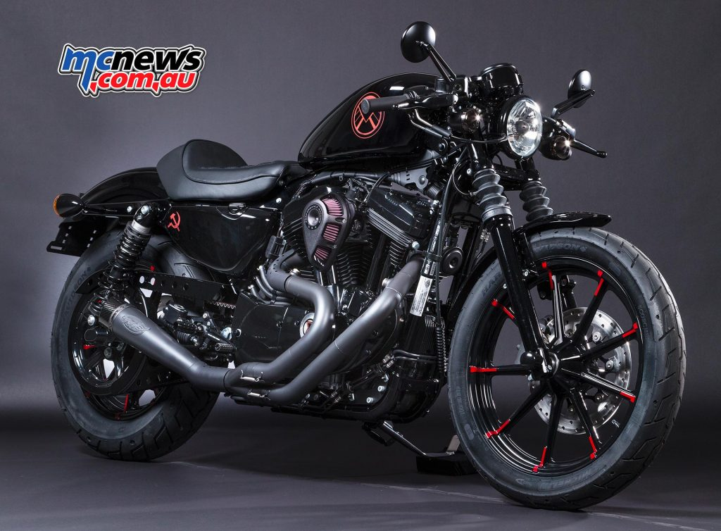 Black Widow, Iron 883 (Sportster) – Sy's H-D (NSW)