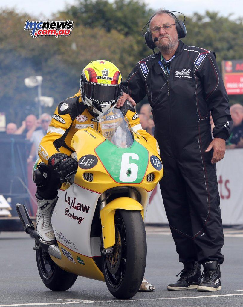 Classic TT 2016 - Ian Lougher