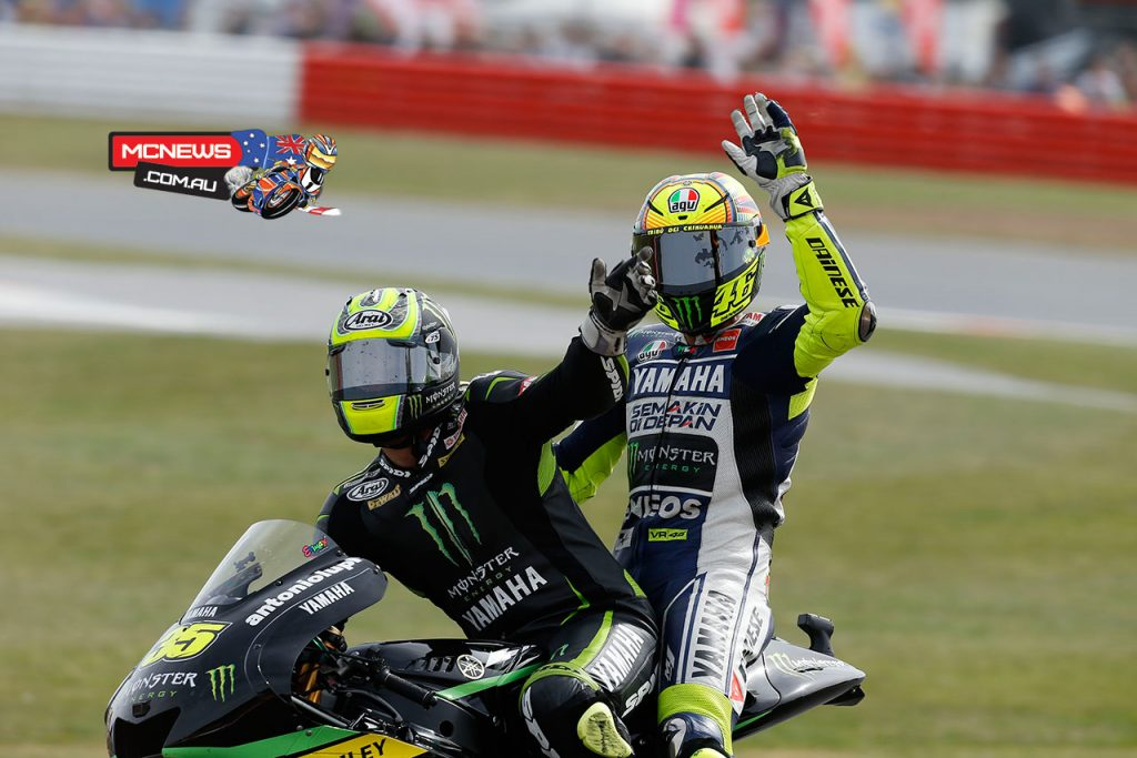 MotoGP 2013 - Silverstone - Image by AJRN - Cal Crutchlow and Valentino Rossi