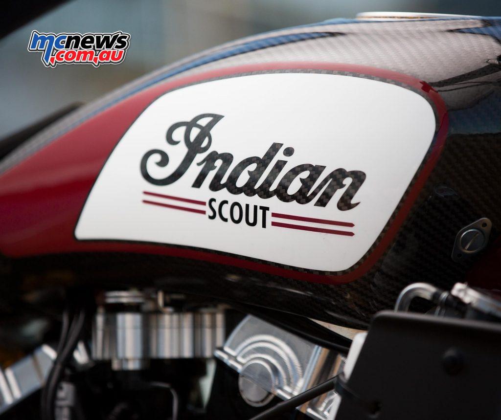 Indian Scout FTR750 Flat Tracker