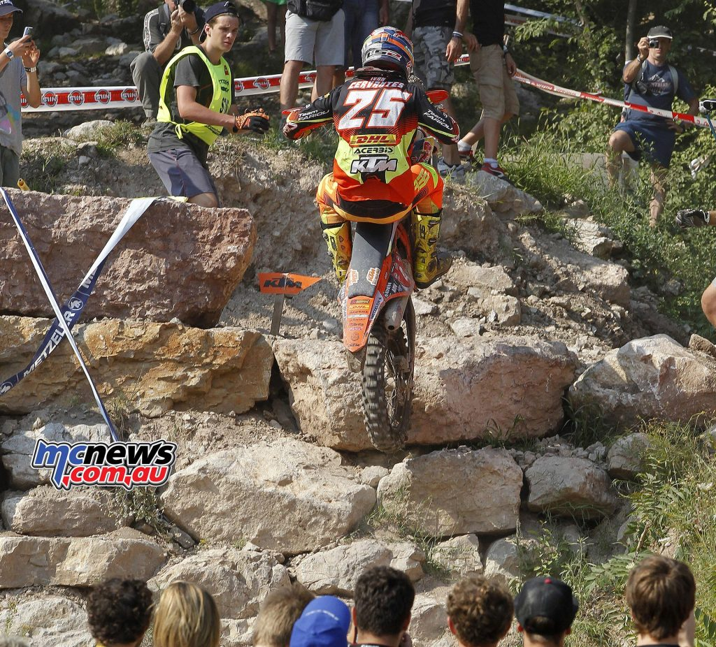 Ivan Cervantes - KTM 300 EXC - The Wall 2016