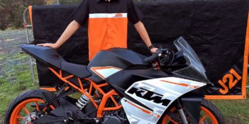 Jarred Brook will make his first foray into road racing next month, at an RC390 Cup race in the US.