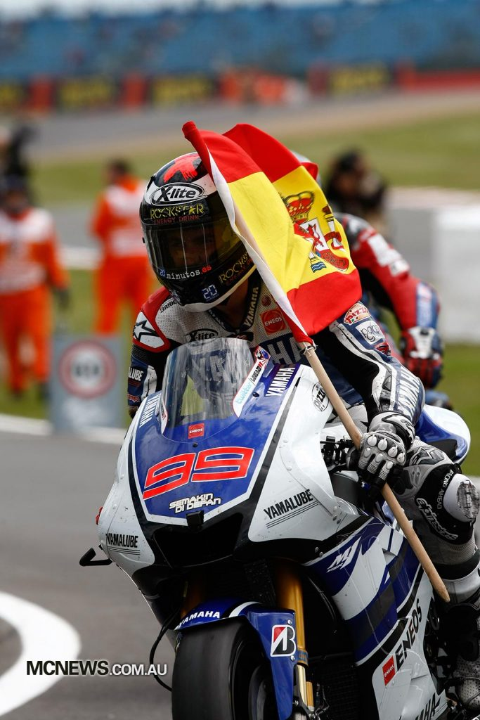 MotoGP 2012 - Silverstone - Image by AJRN - Jorge Lorenzo