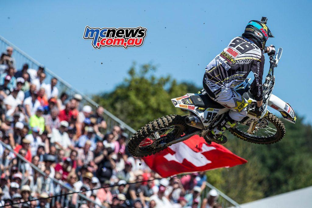 MXGP 2016 Switzerland Max Anstie