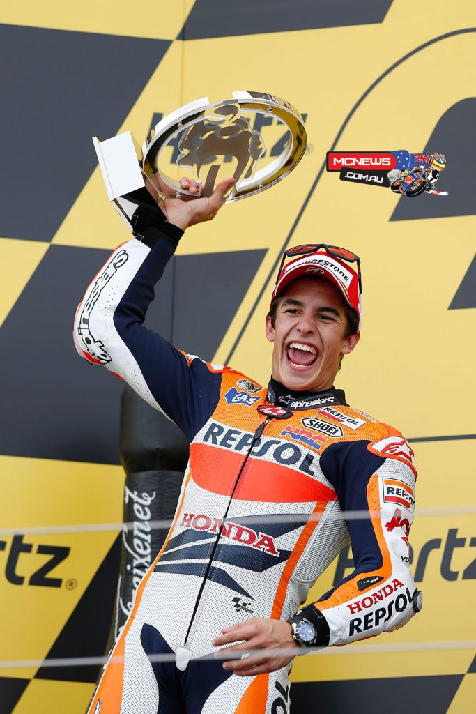MotoGP 2013 - Silverstone - Image by AJRN - Marc Marquez