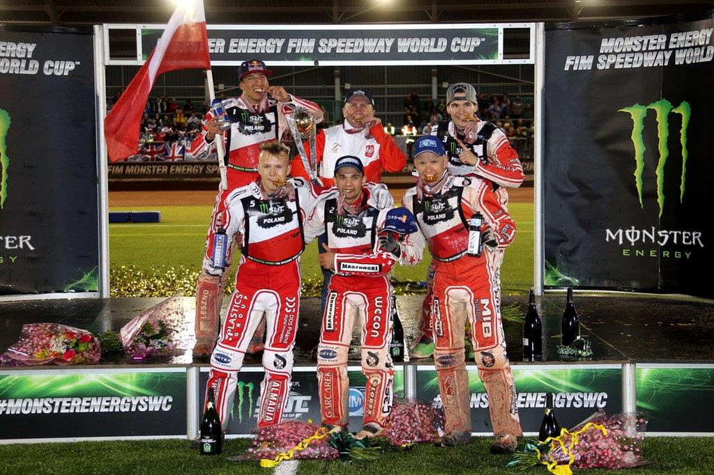 Polish skipper Piotr Pawlicki was elated to skipper his country to their seventh Monster Energy FIM Speedway World Cup win in Manchester.