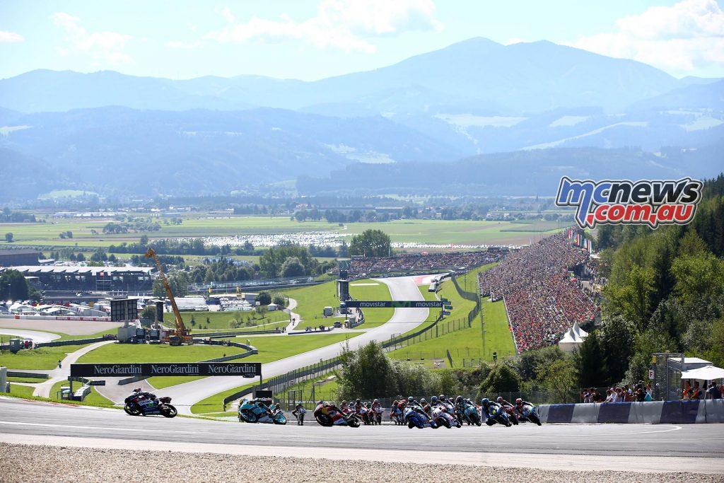 Moto3 Austria Red Bull Ring 2016 - Image by AJRN