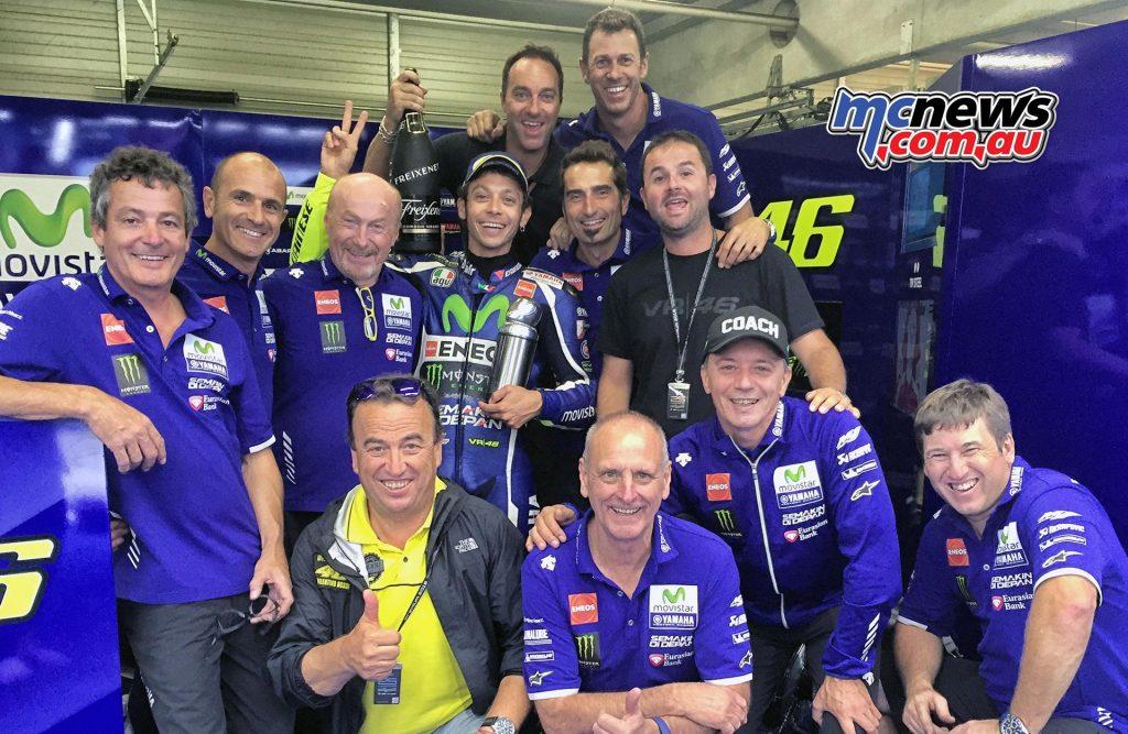 Movistar Yamaha - Valentino Rossi