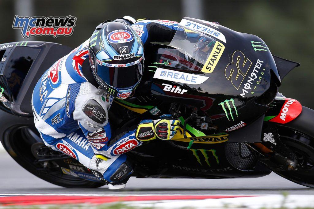 Alex Lowes - MotoGP Test - Brno - August 2016