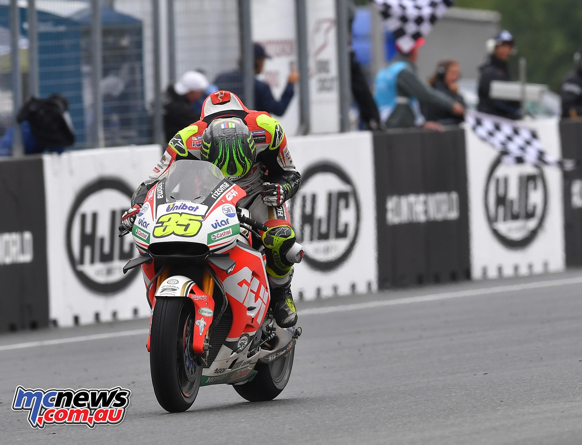 Cal Crutchlow - First Briton in 35 years to win a MotoGP race
