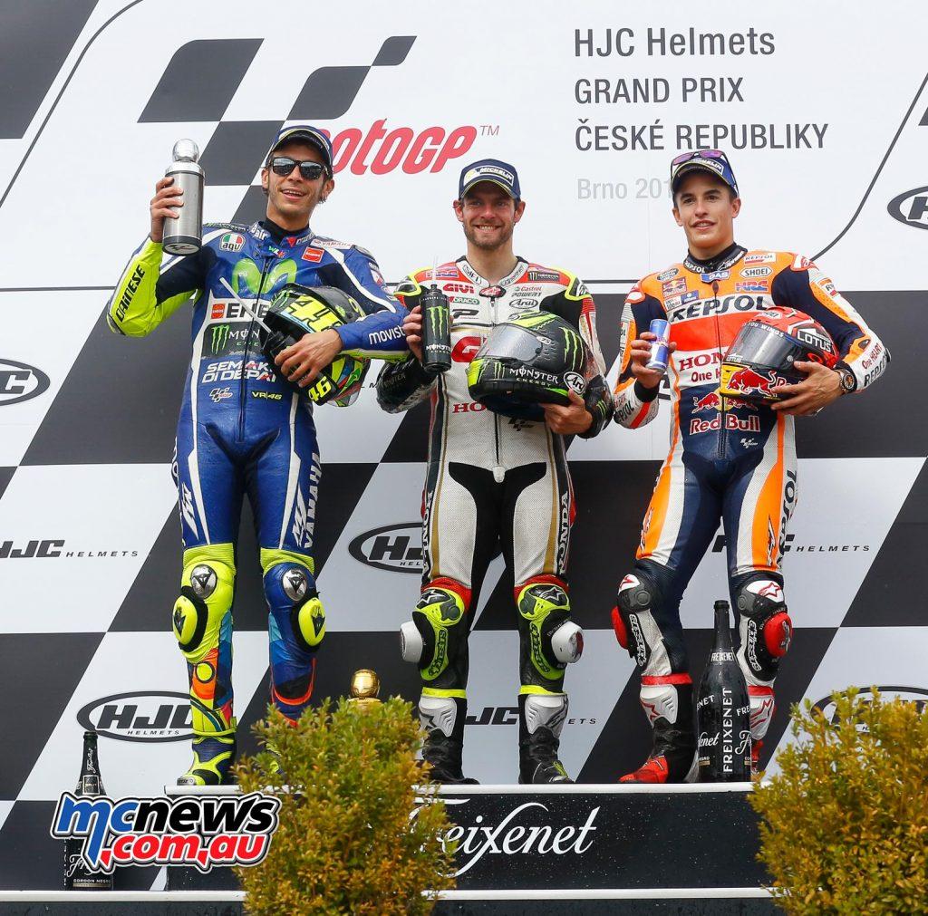 MotoGP 2016 - Round Ten - Brno - Podium - MotoGP