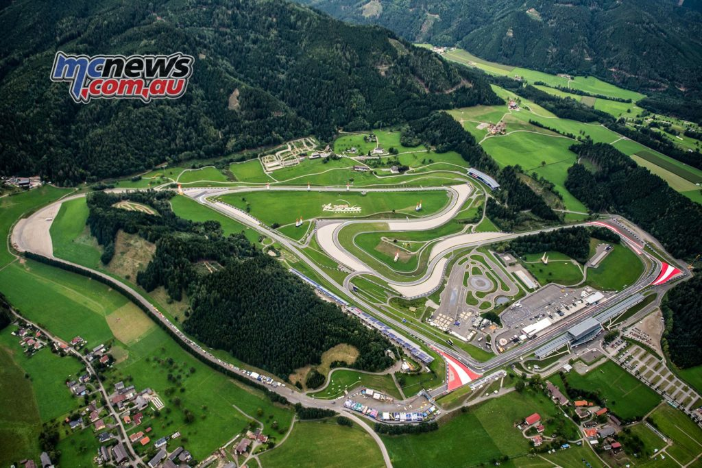Red Bull Ring Spielberg - Image provided by MotoGP/Dorna