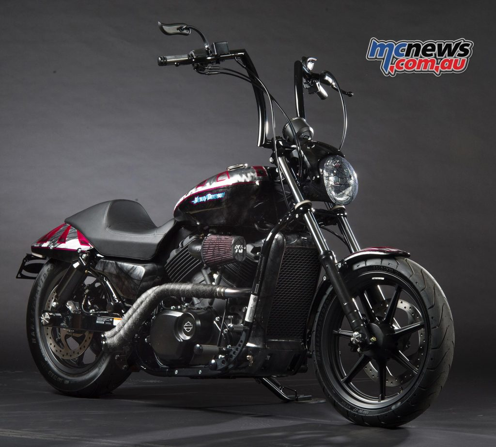 Spider-Gwen, Street 500 (Street) - Gasoline Alley Harley-Davidson (QLD) & Fraser Motorcycles Newcastle (NSW)