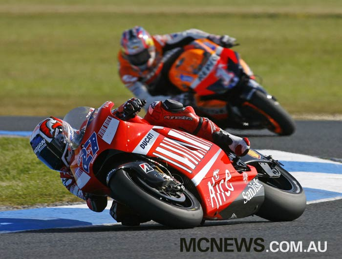 Casey Stoner - Phillip Island 2007 - Image by AJRN