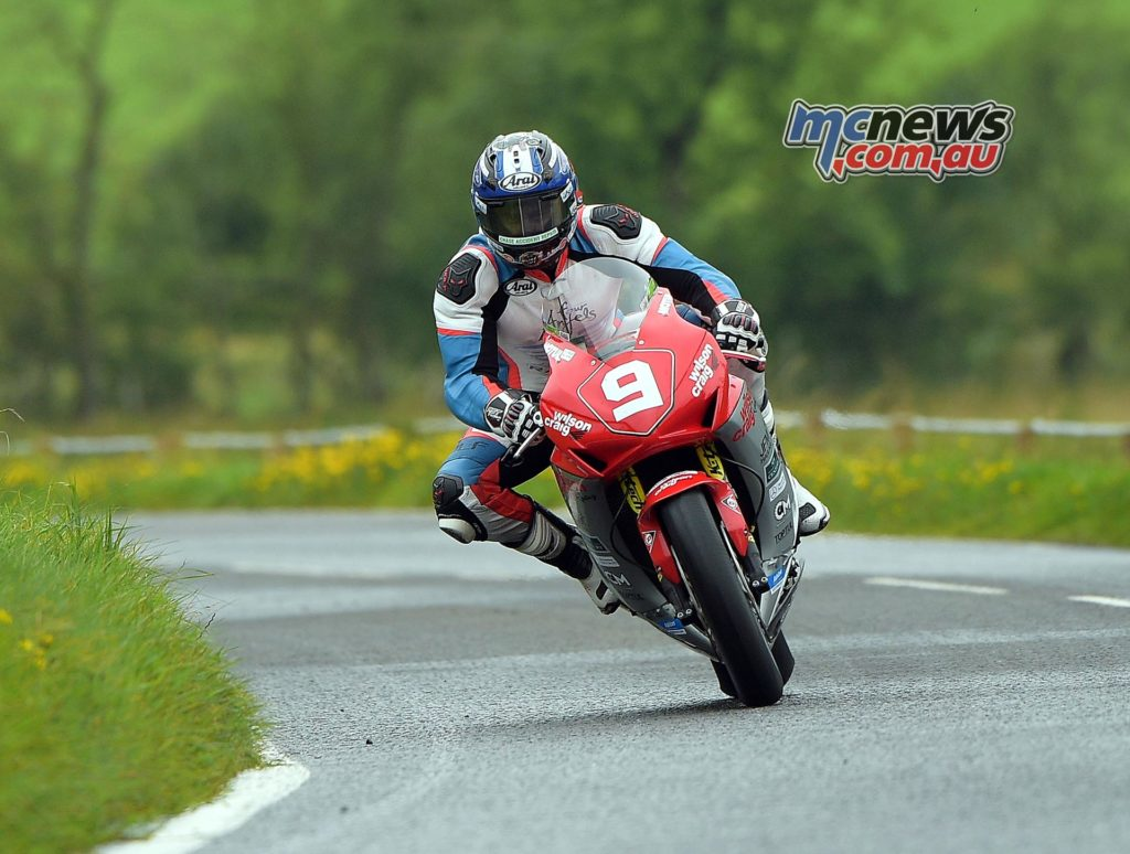 David Johnson pictured during practice at the Ulster GP - Image by Jon Jessop
