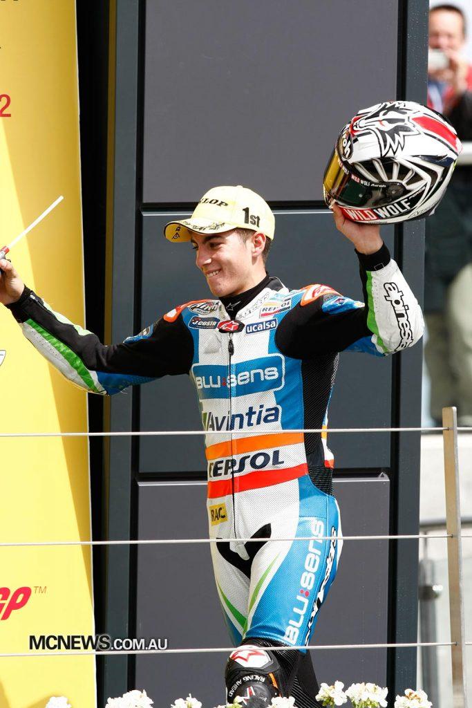 MotoGP 2012 - Silverstone - Image by AJRN - Maverick Vinales