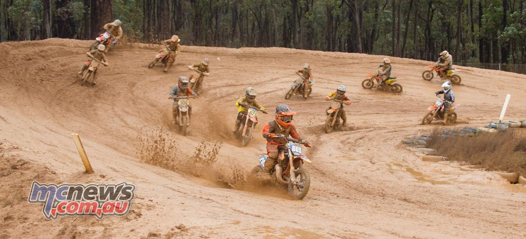 WAMX - Seth Shackleton scored the muddy holeshot - True Spirit Photos