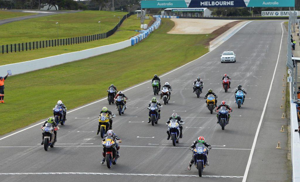 YMF R3 Cup podium Phillip Island 2016