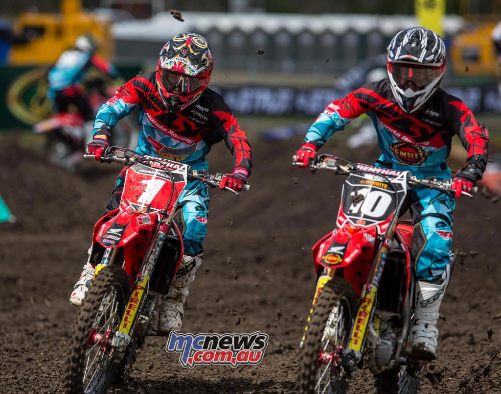 Australian Supercross 2016 - Round One- Image by Marc Jones - Jimmy Decotis and Josh Cachia