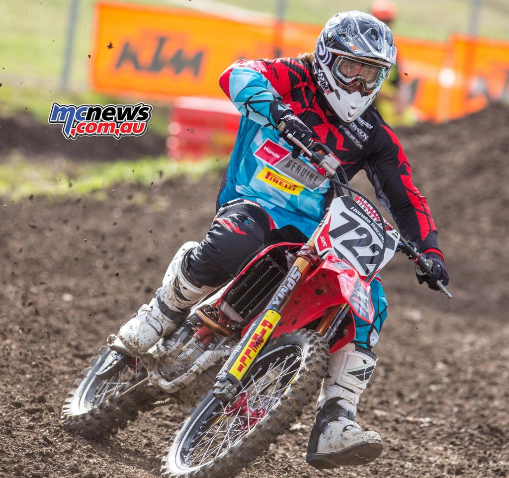 Australian Supercross 2016 - Round One- Image by Marc Jones - Adam Enticknap