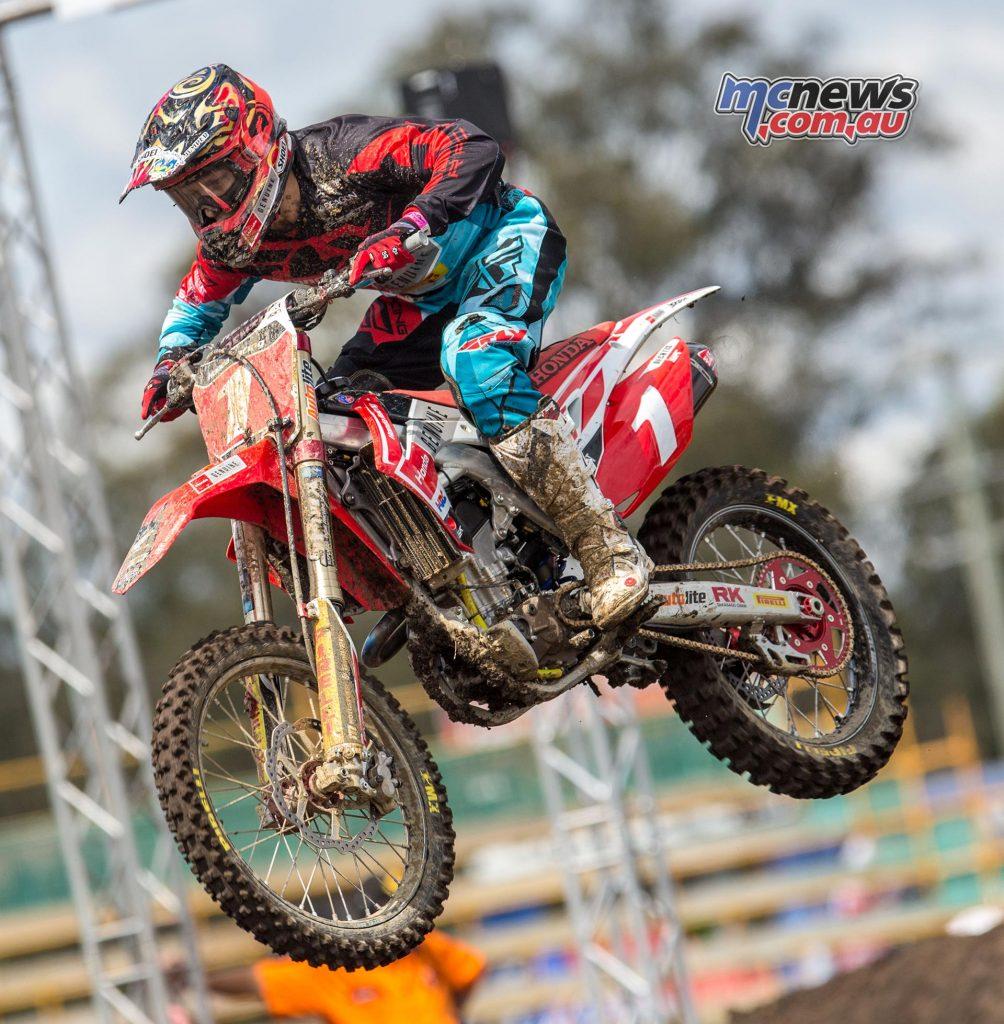 Australian Supercross 2016 - Round One- Image by Marc Jones - Jimmy Decotis
