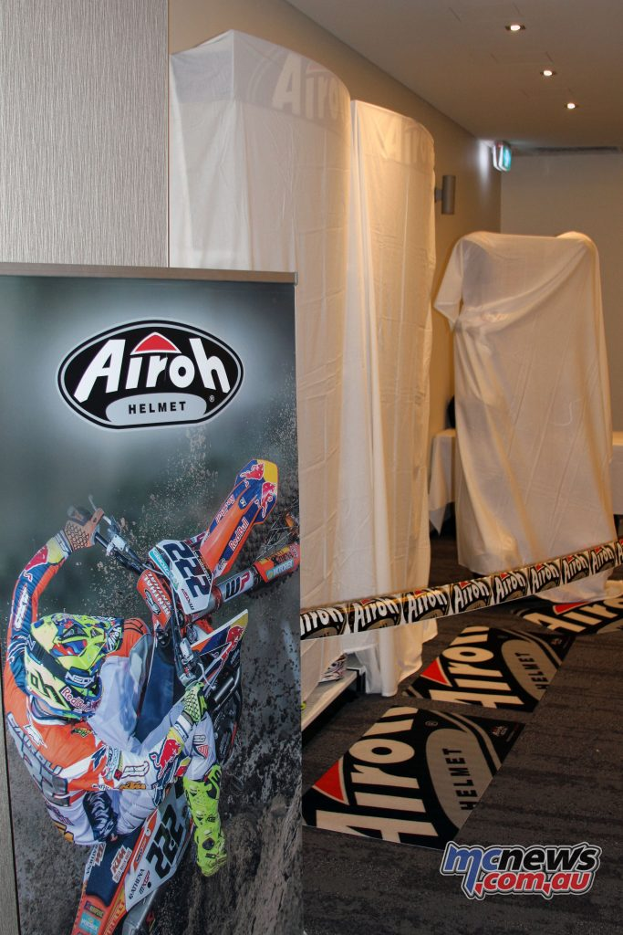 Airoh Helmets have a particular focus on off-road competition but also offer a large range of road helmets.