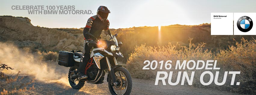 BMW Motorrad celebrates centenary with 2016 model run-out - Adventure