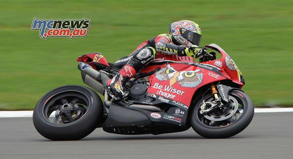 British Superbike 2016 -Round Ten - Donington - Shane Byrne