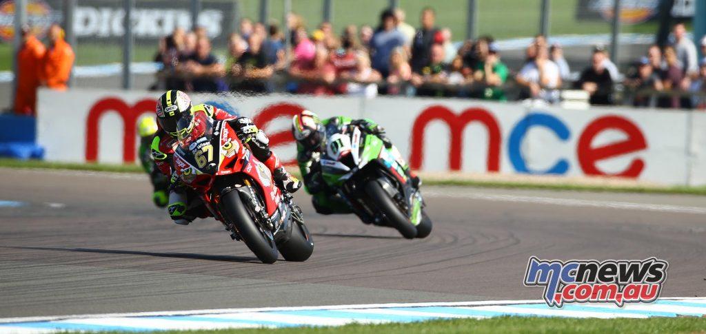 British Superbike 2016 -Round Ten - Donington - Shane Byrne, Leon Haslam