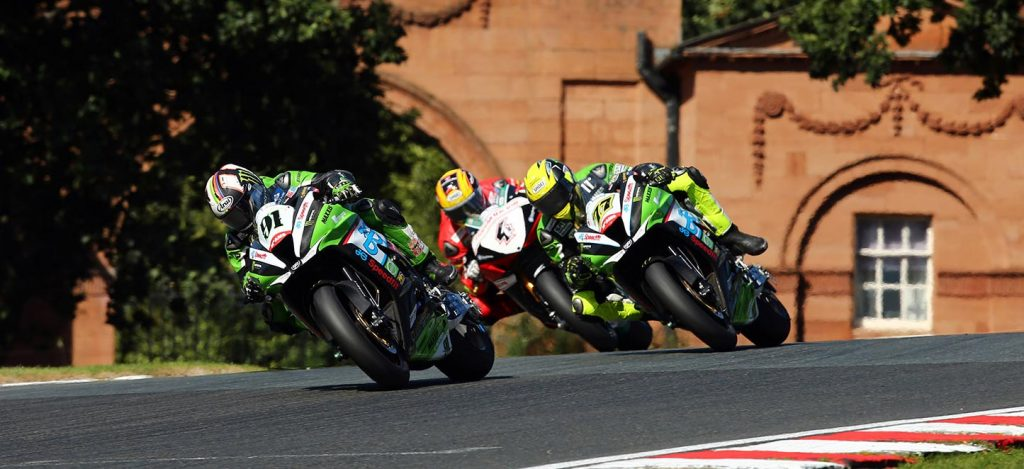 Leon Haslam, James Ellison, Dan Linfoot  - Image by Jon Jessop