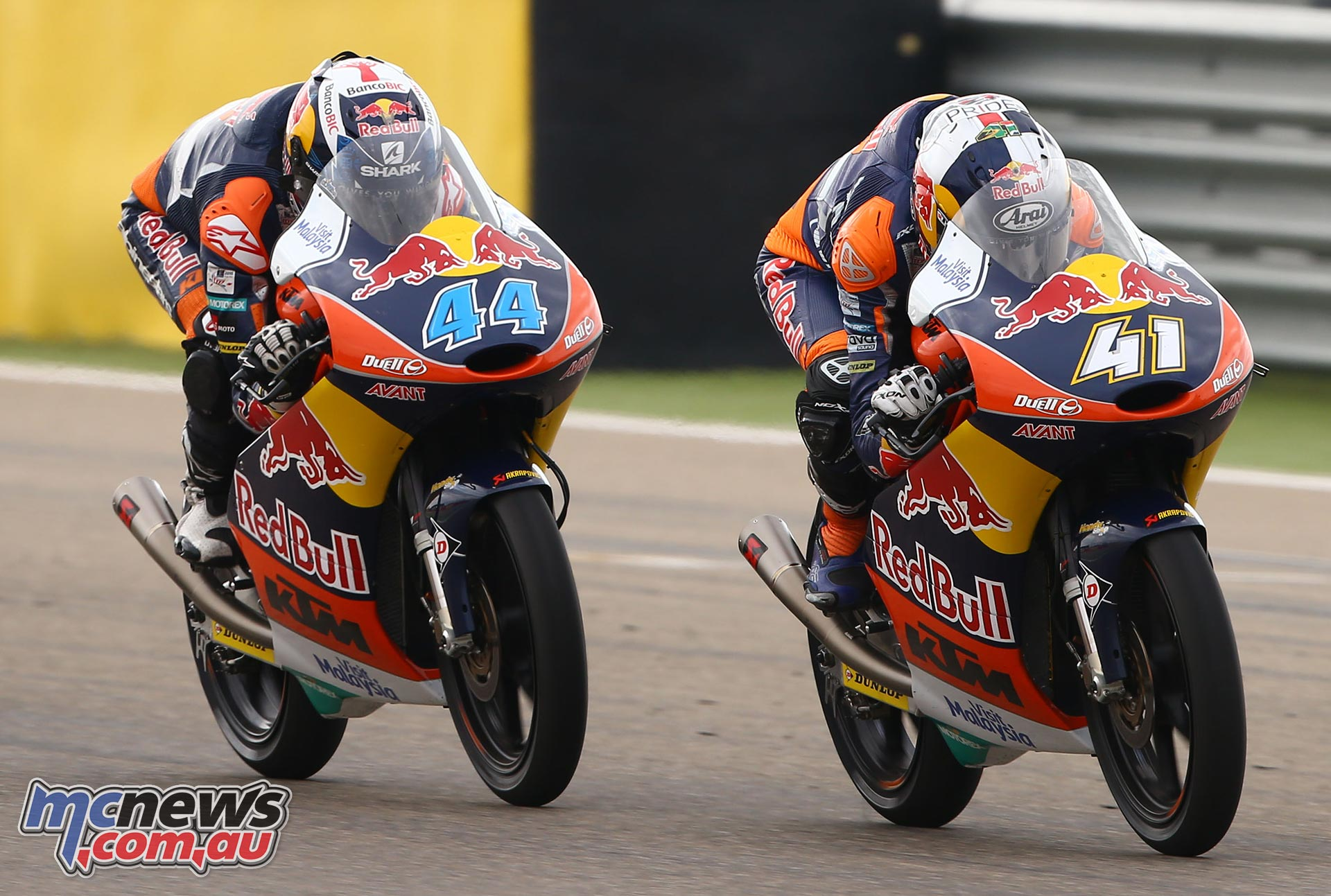 Miguel Oliveira and Brad Binder - KTM RC250 Moto3 2015