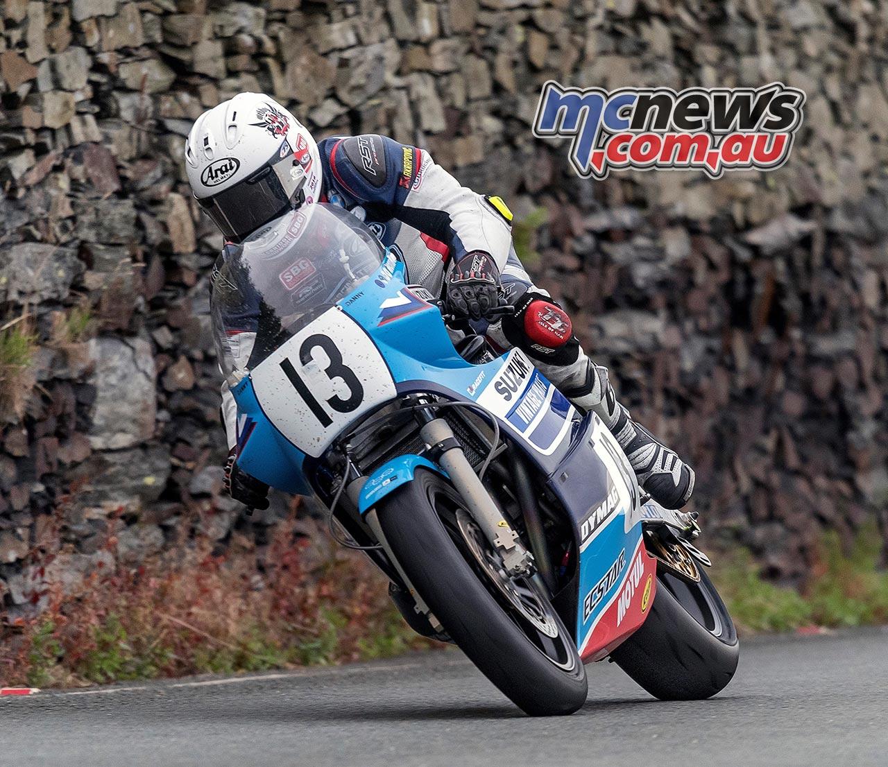 Classic TT 2016 - Danny Webb - Image by Kevin Warren