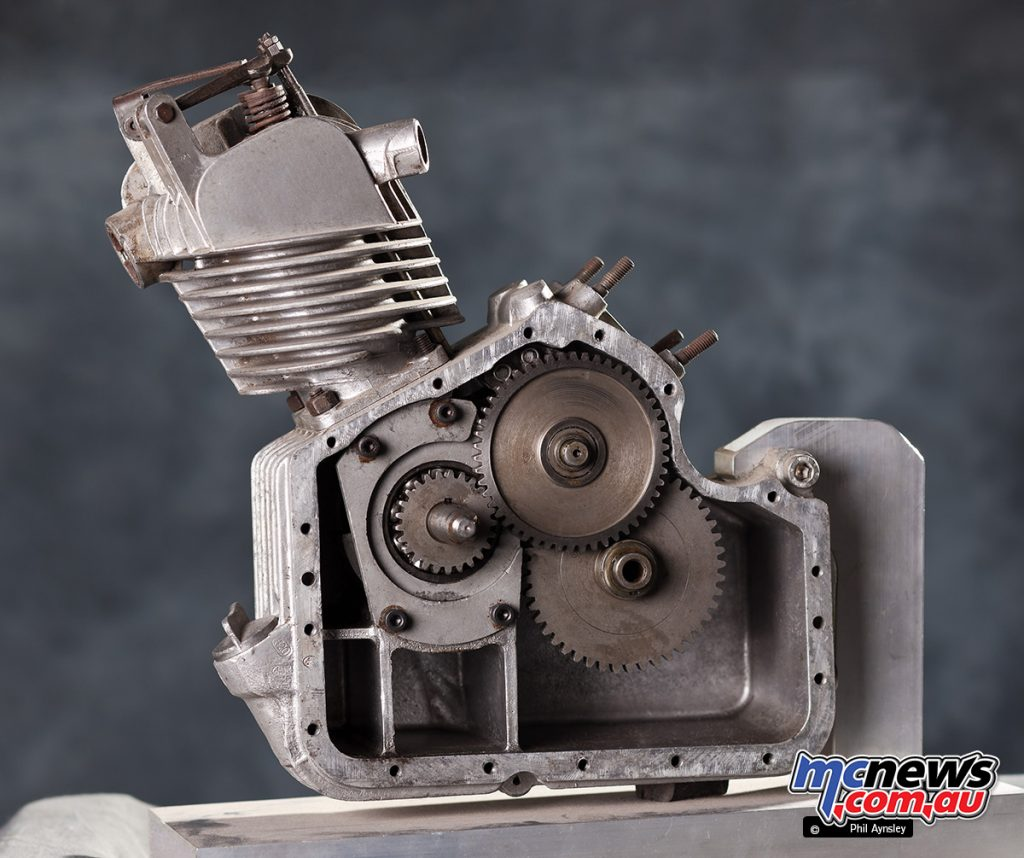 The T0 was a cheaper version of the T1, with no clutch or gearbox.